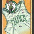 Indiana Pacers Boston Celtics 1999 Ticket Reggie Miller Chris Mullin Ron Mercer Antoine Walker