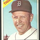 Detroit Tigers Jerry Lumpe 1966 Topps Baseball Card # 161 good