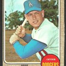 Los Angeles Dodgers Jeff Torborg 1968 Topps Baseball Card # 492 vg