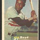 Baltimore Orioles Bob Boyd 1957 Topps Baseball Card # 26 vg/ex