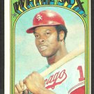Chicago White Sox Carlos May 1972 Topps Baseball Card # 525 ex