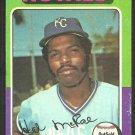 Kansas City Royals Hal McRae 1975 Topps Baseball Card # 268 vg/ex