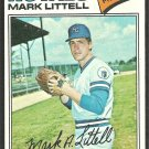 Kansas City Royals Mark Littell 1977 Topps Baseball Card # 141 em/nm