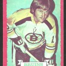 Boston Bruins Greg Sheppard RC Rookie Card 1973 O-Pee-Chee OPC Hockey Card # 8 ex/em