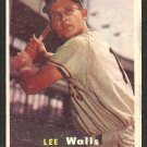 Pittsburgh Pirates Lee Walls 1957 Topps Baseball Card # 52