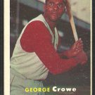 Cincinnati Reds George Crowe 1957 Topps Baseball Card # 73 nr mt