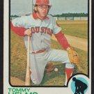 Houston Astros Tommy Helms 1973 Topps Baseball Card # 495 vg