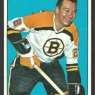 Boston Bruins Ab McDonald 1964 Topps Hockey Card # 16 em/nm