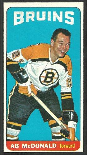 Boston Bruins Ab McDonald 1964 Topps Hockey Card # 16 em/nm