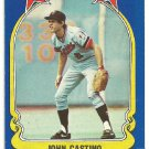 Minnesota Twins John Castino 1981 Fleer Star Sticker Baseball Card # 112