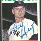 Boston Red Sox Dick Radatz (deceased 2005) Autograph Signed 1964 Topps Baseball Card # 170