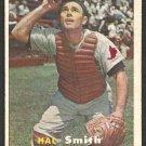 St Louis Cardinals Hal Smith 1957 Topps Baseball Card # 111 ex/em