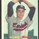 St Louis Cardinals Wilmer Mizell 1957 Topps Baseball Card # 113 ex mt
