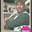 Pittsburgh Pirates Manny Jimenez 1968 Topps Baseball Card 538 good