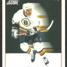 Boston Bruins Ken Hodge All Rookie Team 1991 Score Hockey Card 353