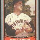 San Francisco Giants Mike McCormick 1988 Pacific Baseball Legends Baseball Card 67