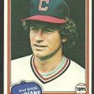 Cleveland Indians Jack Brohamer 1981 Topps Baseball Card 462 nr mt