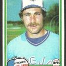 Toronto Blue Jays Dave Stieb 1981 Topps Baseball Card 467 nr mt