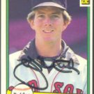 BOSTON RED SOX JOHN TUDOR AUTOGRAPHED 1982 DONRUSS #260