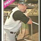 Pittsburgh Pirates Jerry Lynch 1966 Topps Baseball Card 182 ex/em