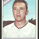 Los Angeles Angels Fred Newman 1966 Topps Baseball Card 213 vg/ex