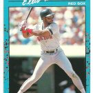 Boston Red Sox Ellis Burks 1990 Donruss Baseballs Best Baseball Card 30