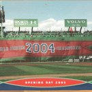 Boston Red Sox Fenway Park 2005 Opening Day Pinup Photo World Champions