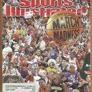 NCAA MARCH MADNESS GIANTS BARRY BONDS TIMBERWOLFS KEVIN GARNETT 3/03 SPORTS ILLUSTRATED