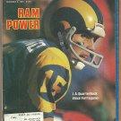 1980 Sports Illustrated Los Angeles Rams North Carolina Tarheels Utah Jazz Sugar Ray Roberto Duran