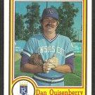 Kansas City Royals Dan Quisenberry 1984 Topps Nestle Dream Team Baseball Card 11
