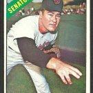 Washington Senators Buster Narum 1966 Topps Baseball Card 274 vg