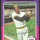 San Diego Padres Dave Winfield 1975 Topps Baseball Card 61 good