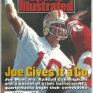 1992 Sports Illustrated 49ers Joe Montana Cincinnati Reds Spokane WA British Open Riddick Bowe