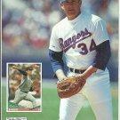 Texas Rangers Nolan Ryan San Francisco Giants Barry Bonds Willie Mays 1994 Pinup Photos