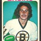 Boston Bruins Andre Savard 1975 OPC O Pee Chee Hockey Card 155 ex