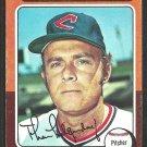 Cleveland Indians Tom Hilgendorf 1975 Topps Baseball Card 377 vg