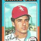 Chicago White Sox Bill Sharp 1975 Topps Baseball Card 373 vg/ex