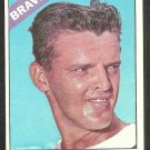 Atlanta Braves Clay Carroll 1966 Topps Baseball Card 307 ex