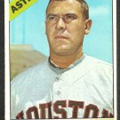 Houston Astros Jim Owens 1966 Topps Baseball Card 297 vg