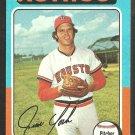Houston Astros Jim York 1975 Topps Baseball Card 383 ex