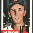 1991 Boston Red Sox Dick Brodowski 1953 Topps Archive Baseball Card 69