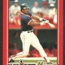 Boston Red Sox Jim Rice 1990 Topps Kay Bee Baseball Card 27