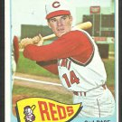 Cincinnati Reds Pete Rose 1965 Topps Baseball Card 207 vg+