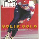 1992 Sports Illustrated Albertville Winter Olympics Bonnie Blair Chicago Bulls Scottie Pippen