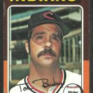 Cleveland Indians Tom Buskey 1975 Topps Baseball Card 403 vg