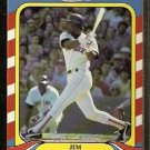 Boston Red Sox Jim Rice 1987 Fleer Limited Edition Baseball Card 35