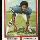 Buffalo Bills Bob James 1974 Topps Football Card 209 good