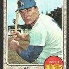 Los Angeles Dodgers Al Ferrara 1968 Topps Baseball Card 34 vg/ex