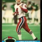 New England Patriots Jason Staurovsky 1991 Topps Stadium Club Football Card 17