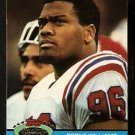 New England Patriots Brent Williams 1991 Topps Stadium Club Football Card 124